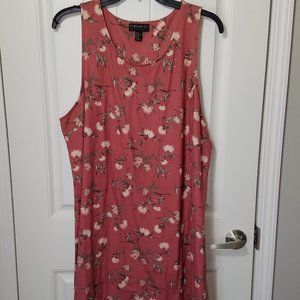 Forever 21 plus size floral tank dress size 3x